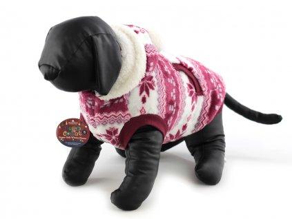 oblecek pro psy flisovy svetr rw s kapuci 2