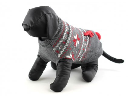 oblecek pro psy svatecni svetr rw led