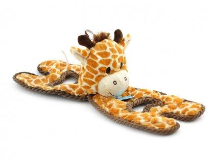 hracka pro psy zirafa petstages