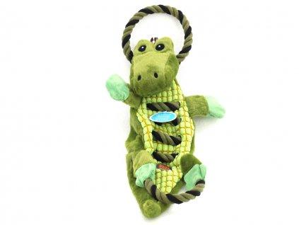 hracka pro psy krokodyl petstages