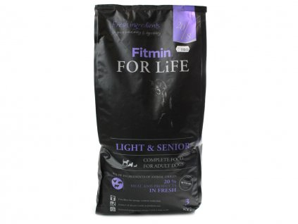 granule fitmin light senior 3kg