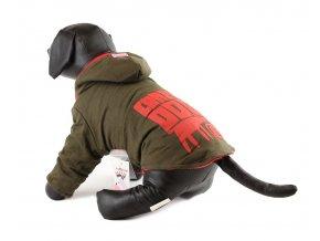 Teplá bavněná bunda FMD – Crazy Dog