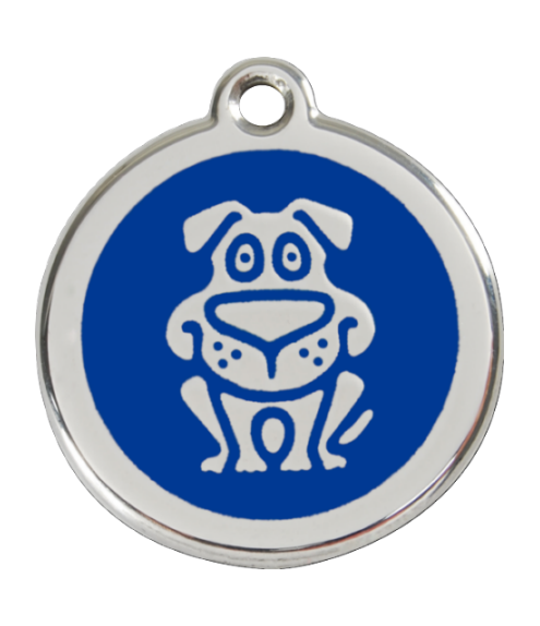 RED DINGO známka Pes modrá Malá