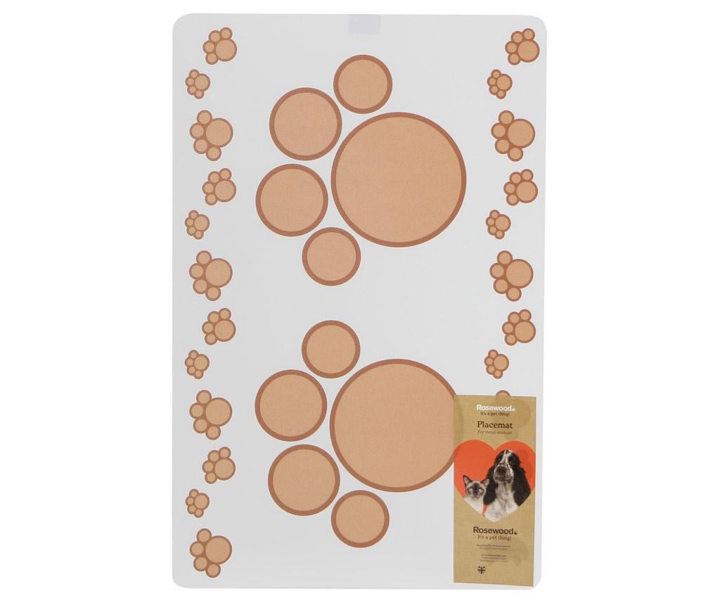 ROSEWOOD Podložka pod misky Beige Embosed 44 × 28,5 cm