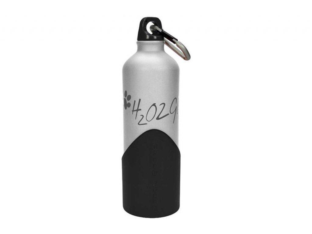 H2O2GO Cestovní Láhev 750 ml Stříbrná