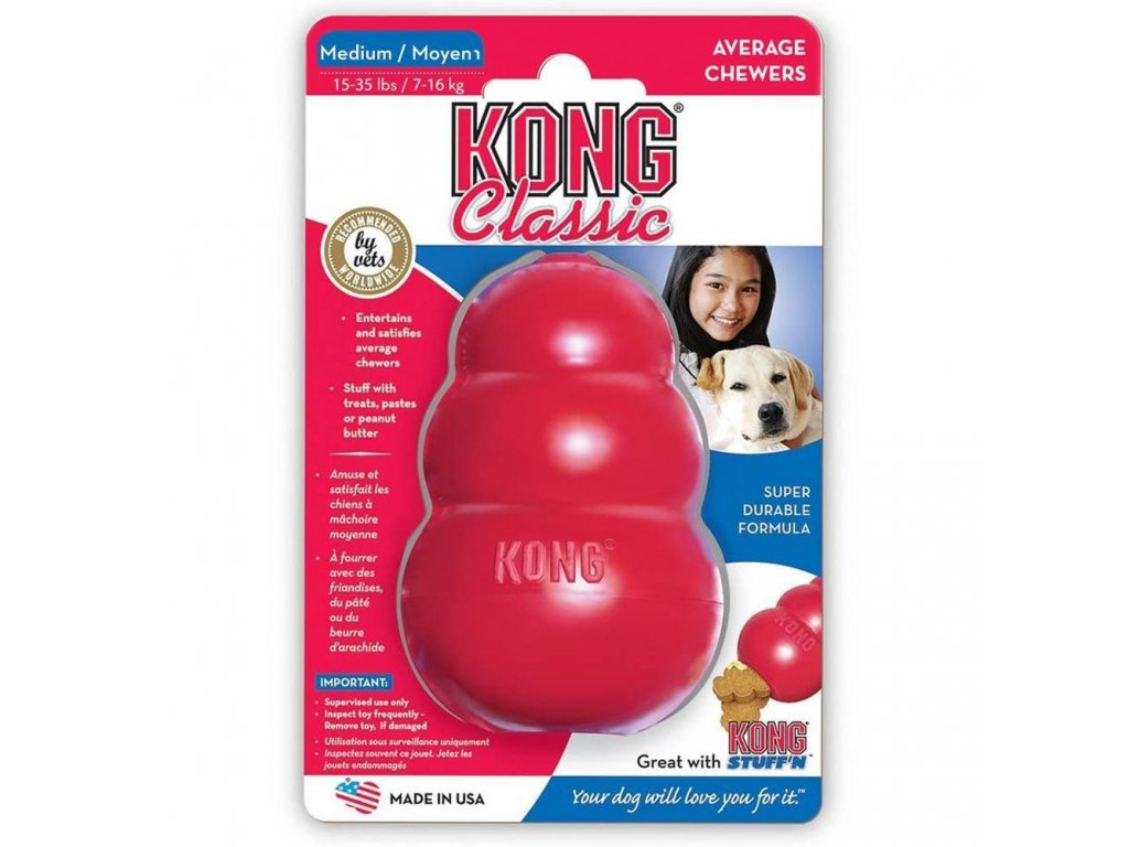 Hračka pro psy Small Kong Classic Velikost: S