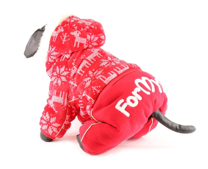 For My Dogs Zimní overal pro fenky Extra zateplený Velikost: 10/XS