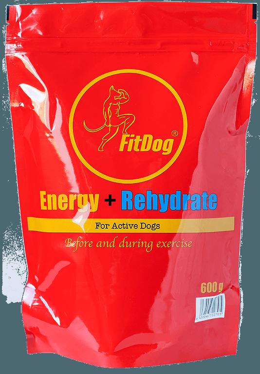 FitDog Energy + Rehydrate 600 g