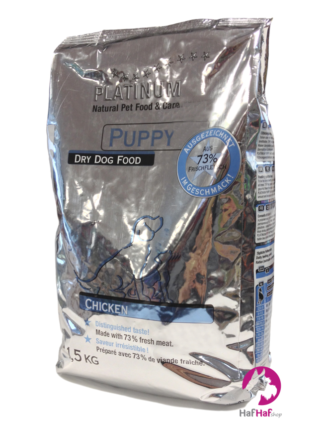 PLATINUM Granule Puppy Chicken 1,5 kg