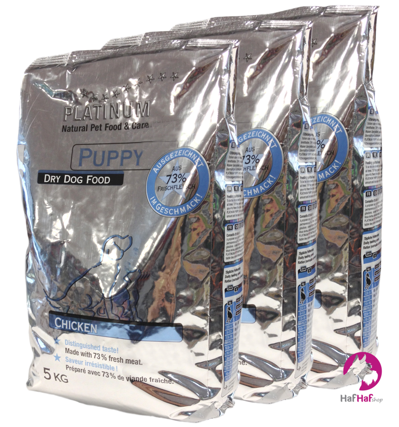PLATINUM PUPPY CHICKEN 15 kg (3 × 5 kg)