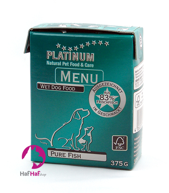 PLATINUM Natural MENU Fish 375 g