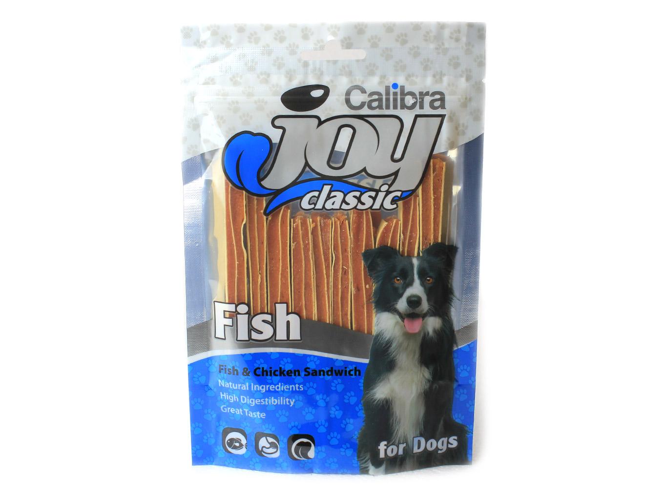 Calibra Joy Chicken and Fish Sandwich 80 g