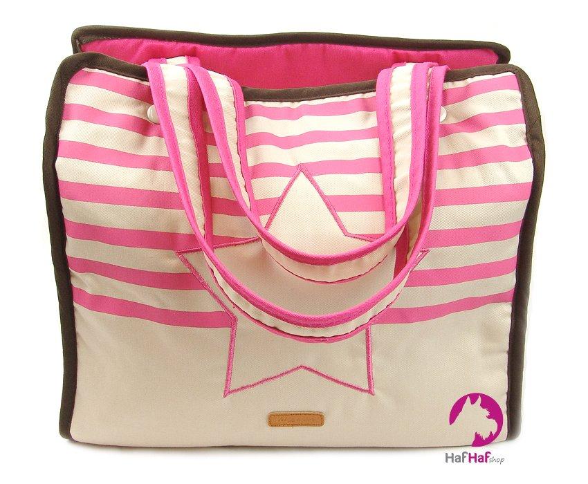 BOBBY Riviera Taška Růžová 35 × 20 × 30 cm