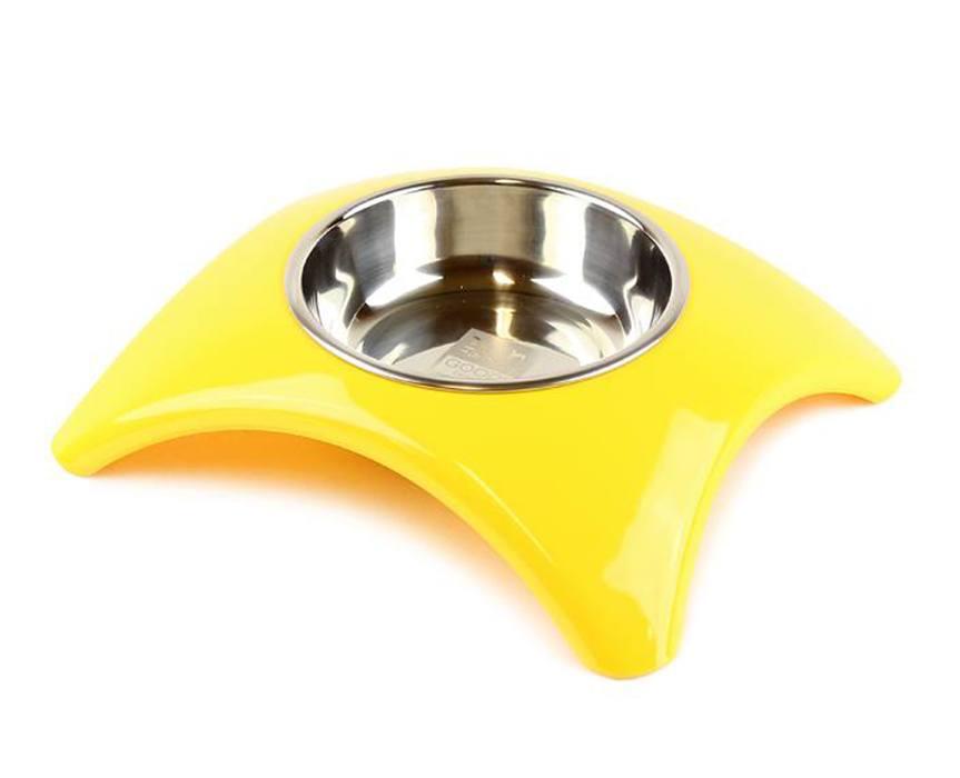 HafHaf-shop Nerez miska Žlutá 350 ml