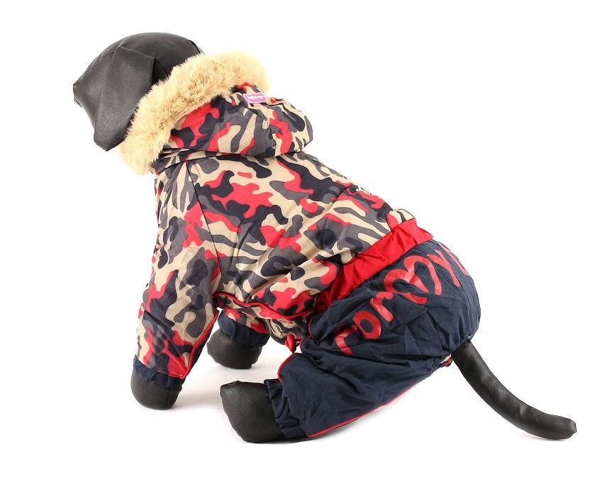 For My Dogs Overal pro fenky Maskáčový Velikost: 18/XL