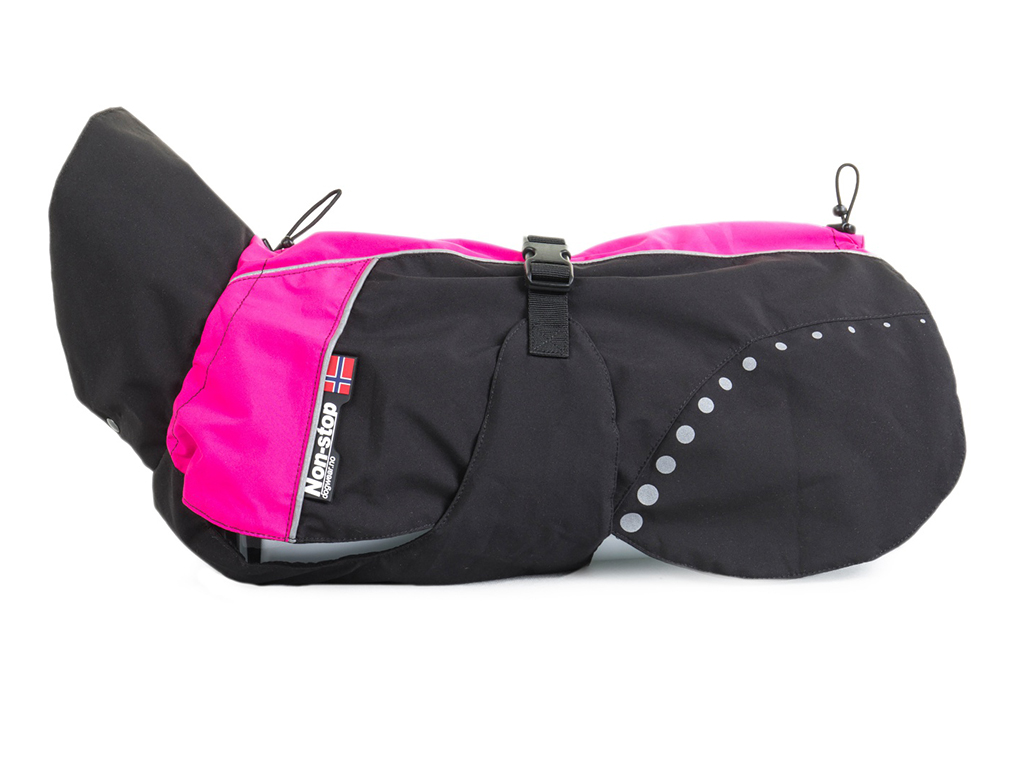 Non-stop Dogwear Bunda Alpha Pro Růžová Velikost: 24