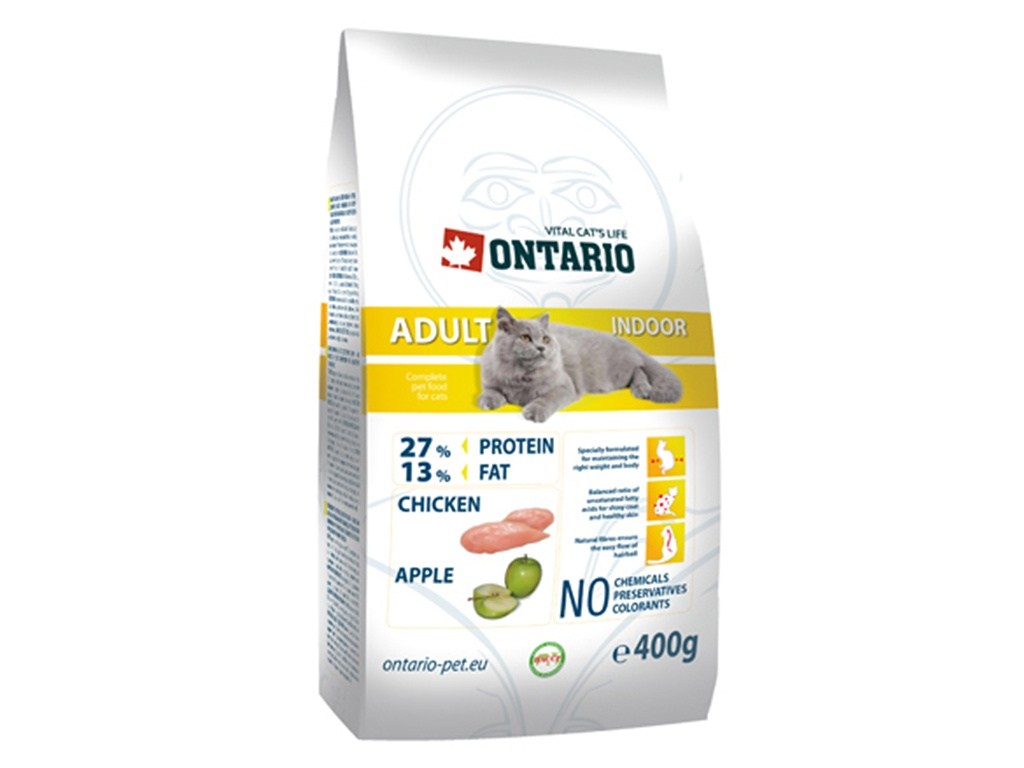 ONTARIO Adult Indoor Kuřecí 400 g