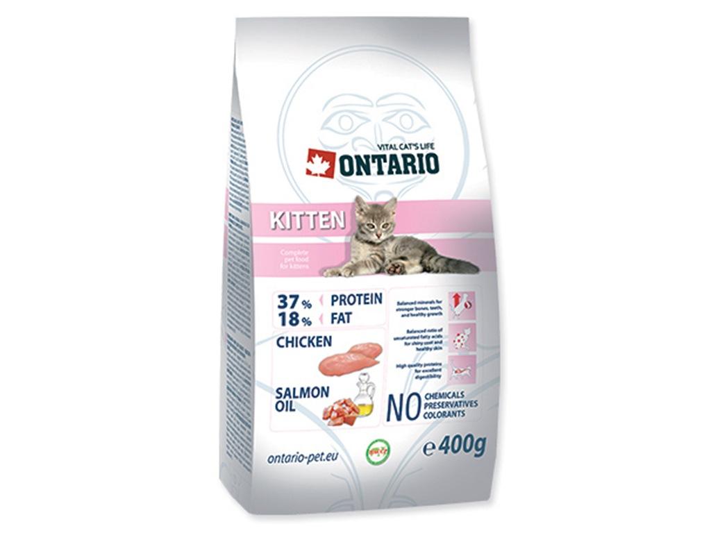ONTARIO Kitten Kuřecí 400 g
