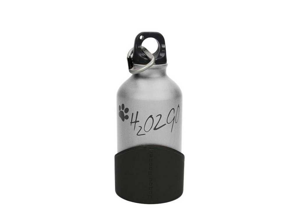 H2O2GO Cestovní Láhev 350 ml Stříbrná
