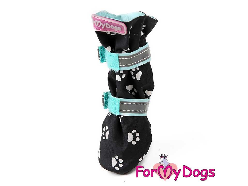 FOR MY DOGS Boty Černo-zelené Velikost: 2