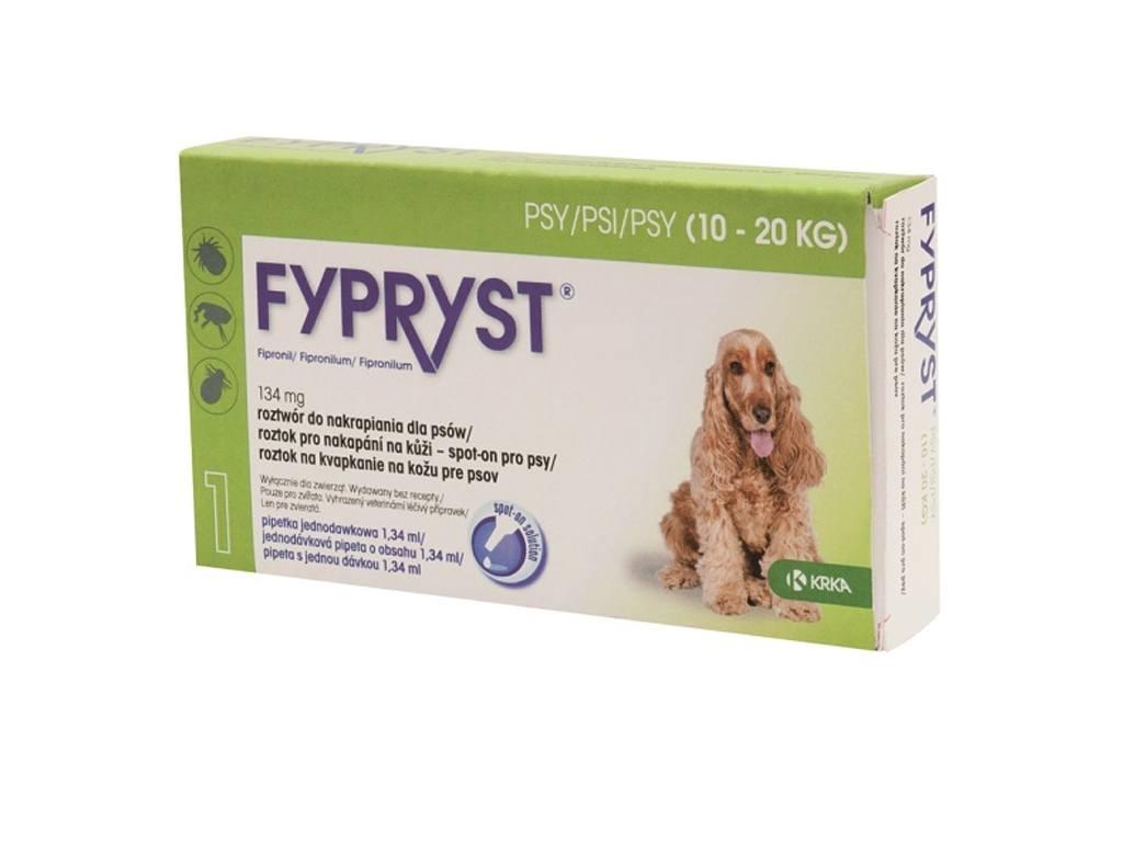 FYPRYST spot on dog M (pro psy 10-20 kg)