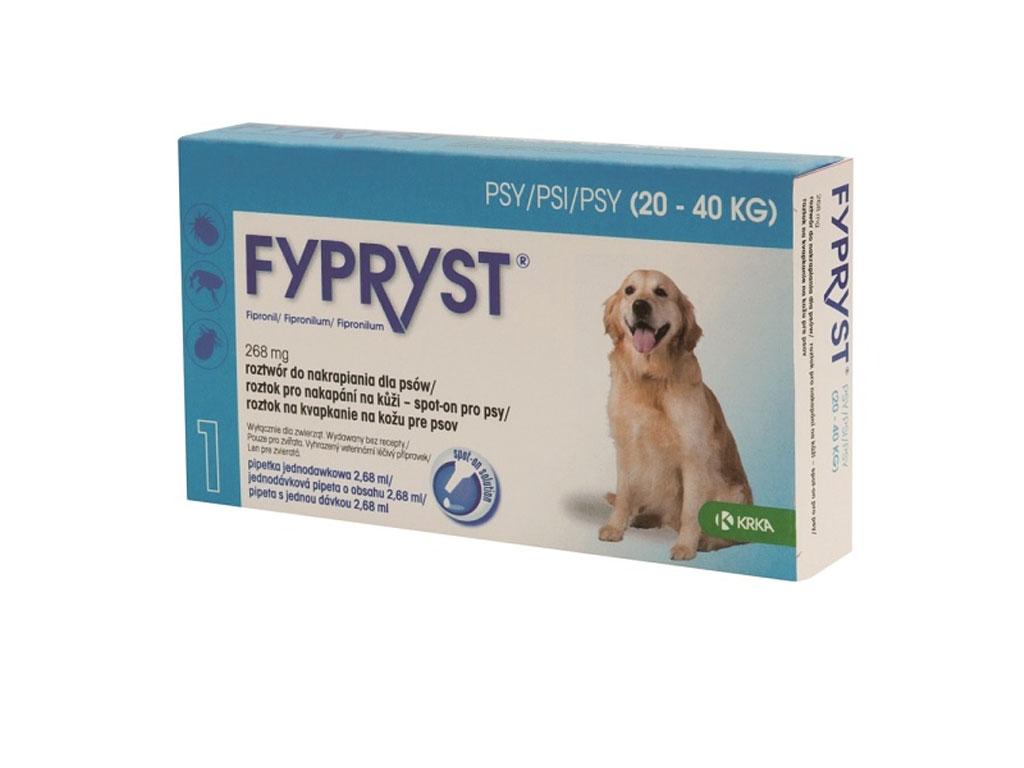 FYPRYST spot on dog L (pro psy 20-40 kg)