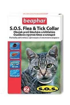 Beaphar Antiparazitní obojek SOS 35 cm