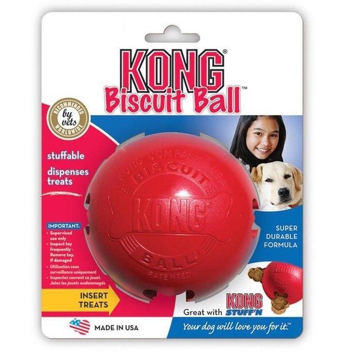 Kong Hračka interaktivní Biscuit Ball S