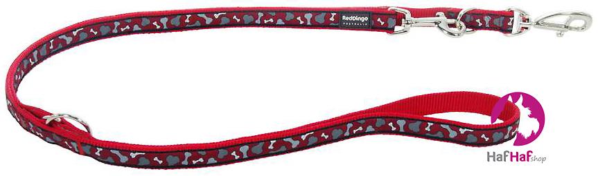 RED DINGO vodítko přepínací Bonarama Red 1,8 m