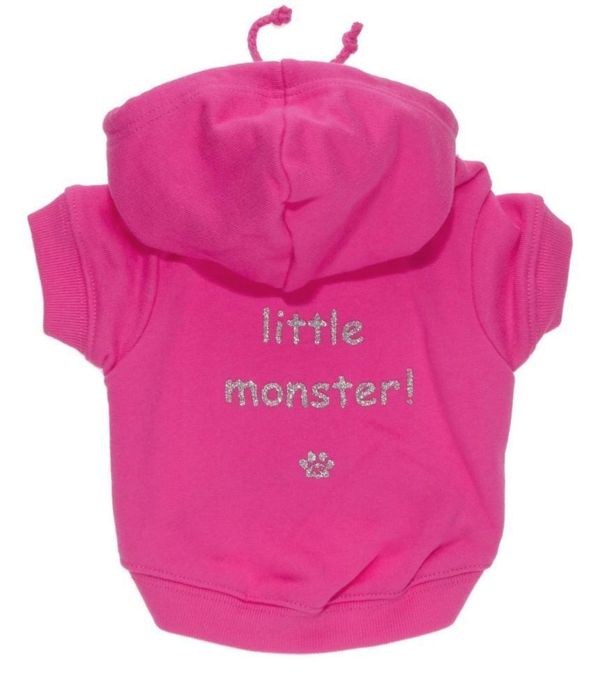 K9 Mikina pro psy a fenky Little Monster! růžová, XS