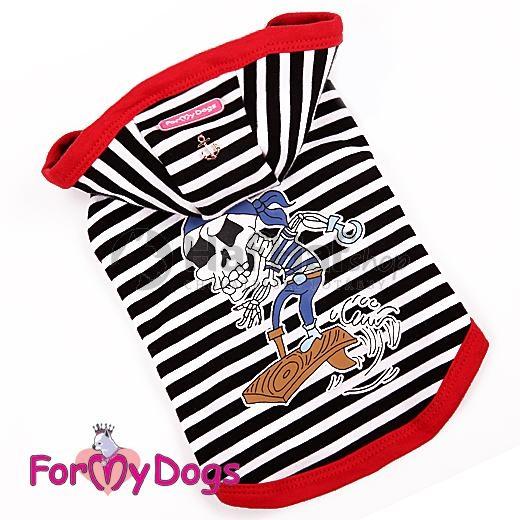 Tričko pro psa s kapucí For My Dogs Velikost: 12/S