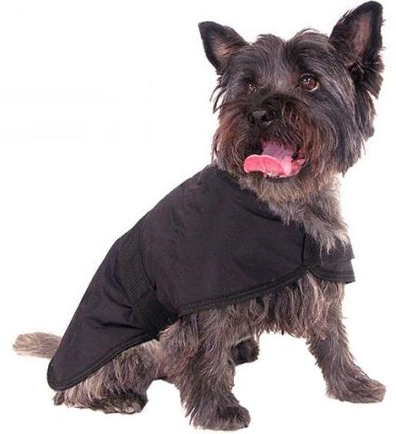 ROSEWOOD Nepromokavý kabát Black Water Resistant L