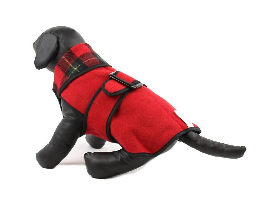 Zimní kabát pro psy Rollver Reversible 3