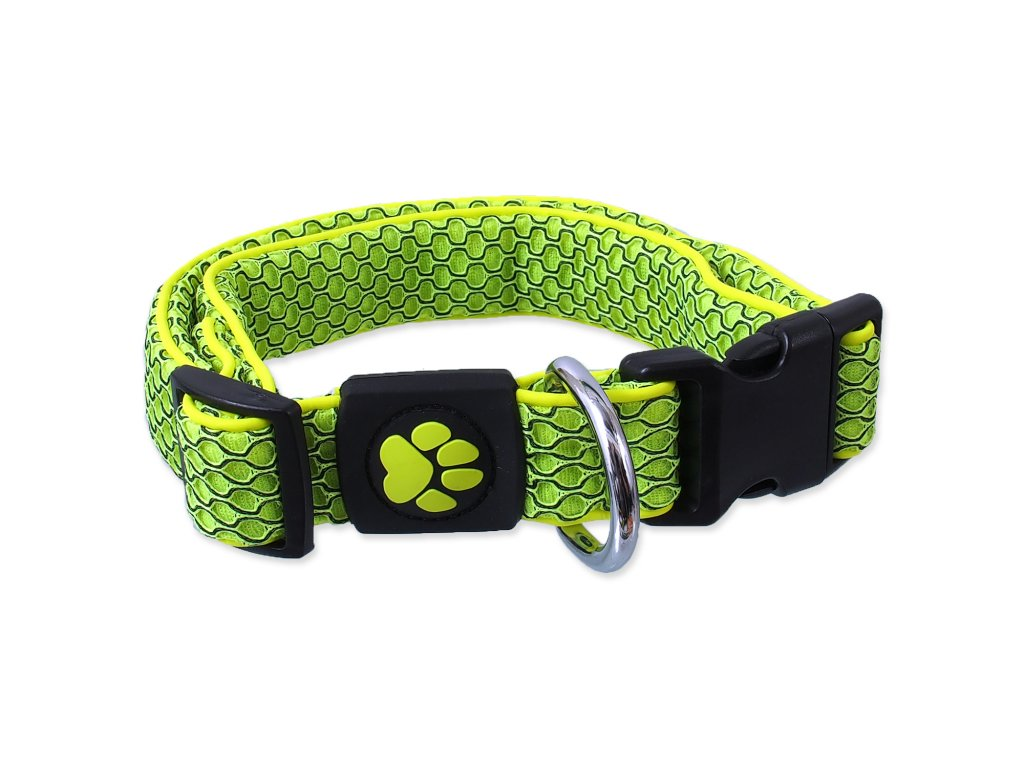 Obojek ACTIVE DOG Mellow limetka XL 1ks