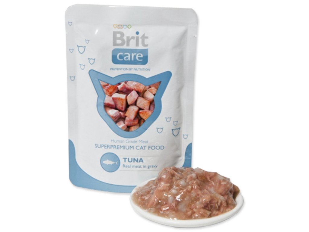 Kapsička BRIT Care Cat Tuna 80g
