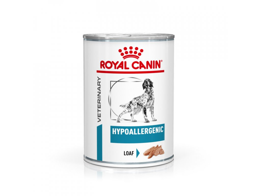 Veterinary Health Nutrition Dog Hypoallergenic Can