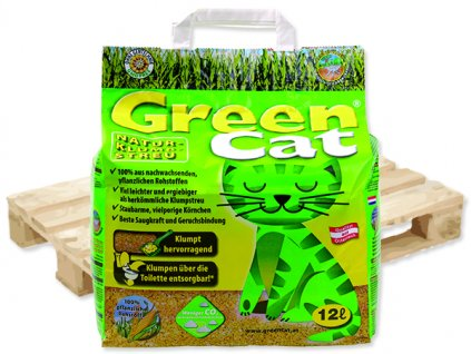 Kočkolit GREEN CAT paleta 12l