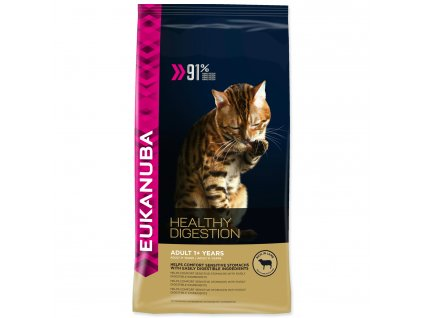 EUKANUBA Cat Adult Healthy Digestion 400g