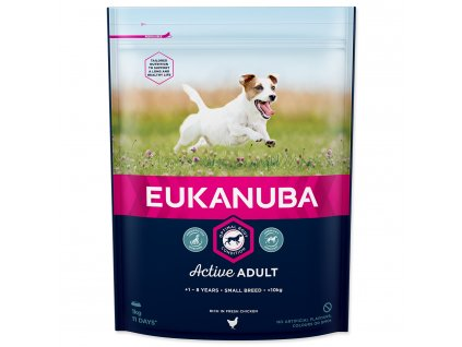 EUKANUBA Adult Small 1kg