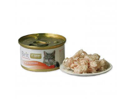 Konzerva BRIT Care Cat Chicken Breast 80g