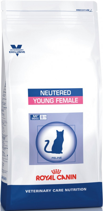 Veterinary Care Cat Neutered Young Female Balení: 10kg
