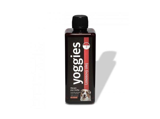 yoggies lososovy olej pro psy a kocky 500 ml