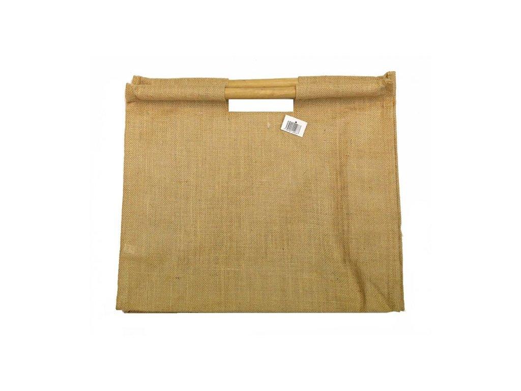 jutova taska bambus