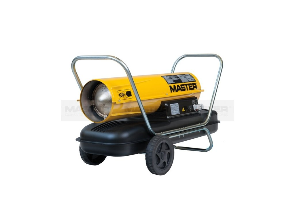 mobile direct heater B 100 CED