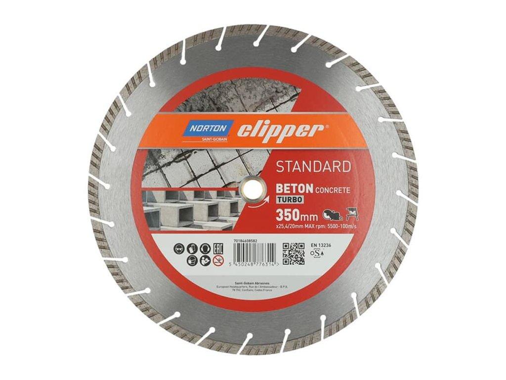 Norton Clipper Standard Beton Turbo 350