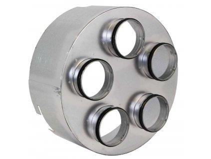 Verteiler 5fach Luftschlauch Ventilator 1200017