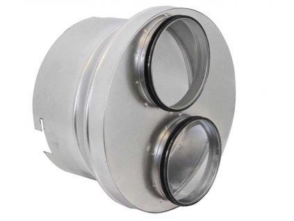 Verteiler 2fach Luftschlauch Ventilator 12000018(1)