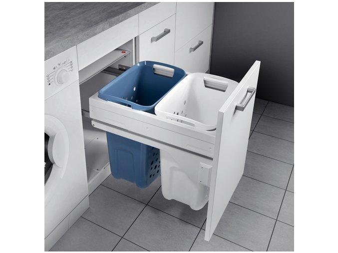 Vestavný prádelní koš Hailo Laundry Carrier 3270-46