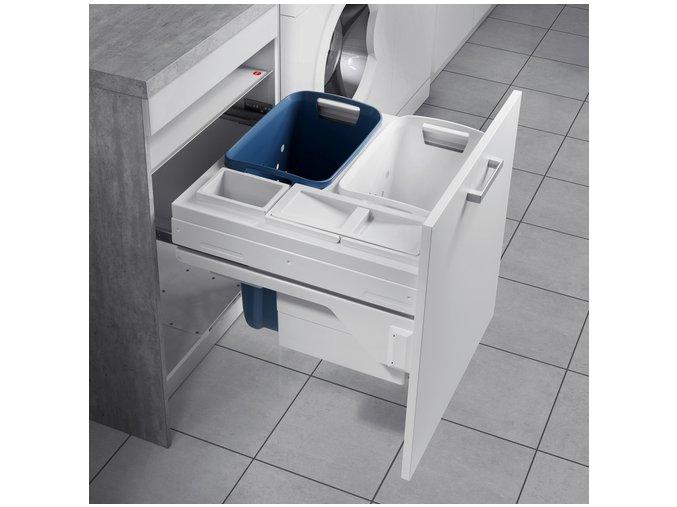 Vestavný prádelní koš Hailo Laundry Carrier 3270-61