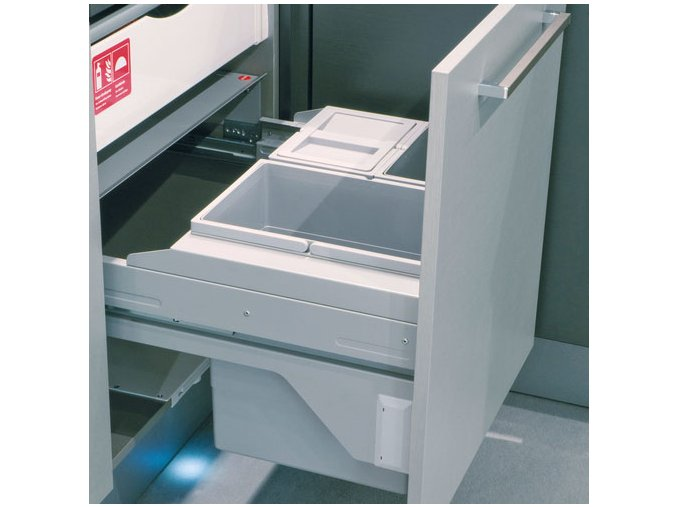 Vestavný odpadkový koš Hailo Cargo Soft 3610-68